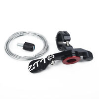 1 X MTB Bike Seatpost Dropper Seat Post Adjustable Remote Control Lever Shifter