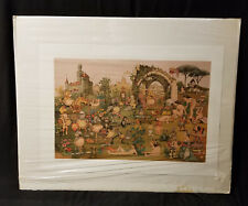 "CHARLES BRAGG /""CAMELOT/"" Hand Signed Limited Edition Art Etching CAMELOT SERIES"