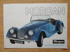 MORGAN 4/4 & PLUS 8 1977 1978 UK Mkt Sales Brochure - +8