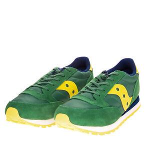 SAUCONY JAZZ ORIGINAL Sneakers EU 37.5 UK 4.5 US 5.5 Contrast Leather Lug Sole