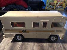 Tonka Winnebago RV Vintage Motorhome Camper Good Shape 1970 steel LOOK!!
