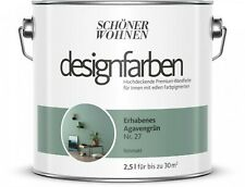 SCHÖNER WOHNEN SW Designfarben 2,5 l Premium Wandfarbe INNEN 30 Farbtöne matt