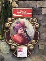 CHRISTMAS 1976-1977 VINTAGE ENJOY COCA-COLA ADVERTISING SIGN UNUSED CALENDAR