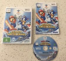 Mario Sonic Olympic Winter Games (Nintendo Wii) Tracked Parcel Post