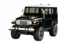 Automodello Tamiya Land Cruiser 40 Black Brushed 1 10 Monstertruck elettrica 4wd