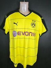 Puma Borussia Dortmund 2015/16 home jersey football soccer shirt Bvb medium
