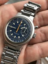 1972 Longines Conquest Monopusher Chronograph Mens Watch Valjoux 236 36,4mm