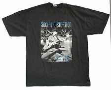 "SOCIAL DISTORTION ""SEX LOVE"" & ROCK TOUR 2004 T-SHIRT XL X-LARGE NEW OFFICIAL"
