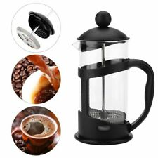 Coffee Maker French Press Pot Filter Heat Resistant Percolator Glass Cup Cafe