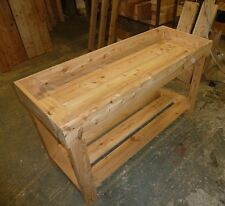 Greenhouse Potting Table -  Growing table  1.45m Long -by Gardenlarch