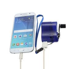 MINI mano da viaggio MANOVELLA Hand-Operated DINAMO USB CELLULARE MP3 MP4