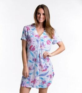 Night Dress Lahaina Floral Tee Shirt