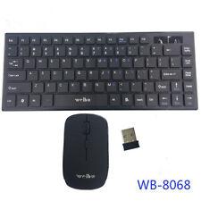Tastatur Maus für Smart TV PC Laptop Kabellos Funktastatur Funkmaus Wireless 10m