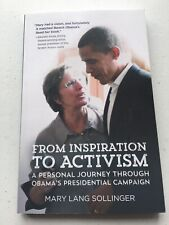 From Inspiration to Activism, Mary Lang Sollinger; Signed By author