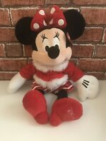 Disney Store Minnie Mouse 2010 Christmas 18 Inch Disney Plush Soft Toy With Tag