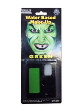 Halloween Horror Water Based Make Up & Sponge Set Face Paint Witch Devil Zombie