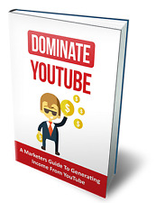Dominate YouTube + 10 Free eBooks with Resell Rights (PDF)
