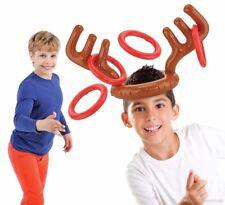 Inflatable Elk Horn Toys Deer Head Shape Kids Moose Antlers Ferrule Game Set New