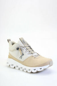 On Running Womens CloudTec Running Sneakers Beige White Size 6