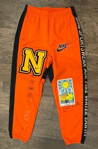 Nike NSW Heavyweight Element Pants Orange DC2723-891 Men's SMALL