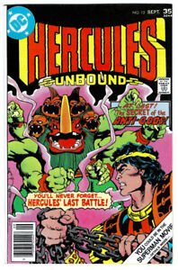 HERCULES UNBOUND #12 in VF+ condition a 1977 Bronze Age DC comics