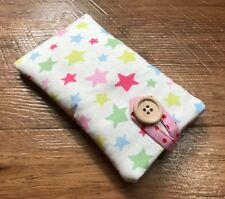 HANDMADE iPOD NANO 7th 8th GEN CASE MADE WITH CATH KIDSTON SHOOTING STAR FABRIC
