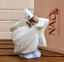 Nao By Lladro-Estrella Fugaz-Figura Modelo 1394 Niña Dama Niño Vestido nocturno-Caja