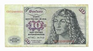 Germany 10 Mark 1970