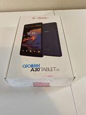 Alcatel A30 8 Tablet - Blue - 16GB (WIFI ) Check imei In Description