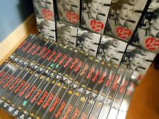 Lot of I Love Lucy Collectors Edition 55 VHS Tapes 165 Episodes of TV series