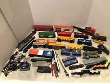 VINTAGE TRAIN CARS LOT SANTE FE JUNKYARD OR NOT PARTS FREIGHT REPAIRS ~ HUGE LOT