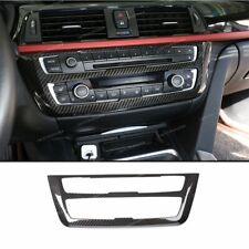 Carbon fiber Center Console Frame Trim For BMW 3 4 Series GT F30 F32 F34 2013-18
