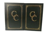 Easton Press GROVER CLEVELAND STUDY IN COURAGE 2-VOL SET Collector's Edition