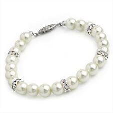 Pulseras de bisutería perla sintética