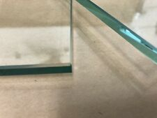"""Floating Shelf 6"""" X 21"""" Rectangle 3/8"""" Clear Tempered Glass"""