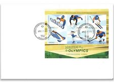 Marshall Islands 2018 Winter Olympics Korea Sheetlet First Day Cover FDC