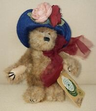 """Boyds Bear 20th Anniversary Yvette Dubeary Plush Archive Collect Jointed 6"""" 1999"""