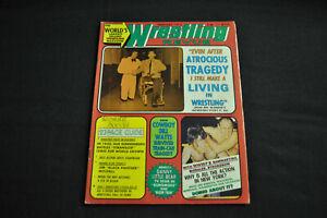 WRESTLING REVUE MAGAZINE FEBRUARY 1975 - MR. WONDER COVER STORY! (F-VF)