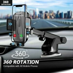 Car Phone Holder Mobile Phone Stand In Car No Magnetic Mount Support Suction Cup