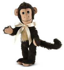 Merrythought Milo Monkey classic jointed mohair - 23cm / 9 inches - MMU9