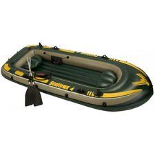 Intex Boot Seahawk 4 Set 351x145x48cm Schlauchboot Paddelboot Gummiboot WOW!