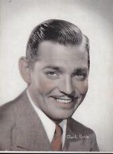 "CLARK GABLE-hollywood MOVIE STAR "" merro-goldwyn mayer "" PUBLICITY 1940s FAN pic"