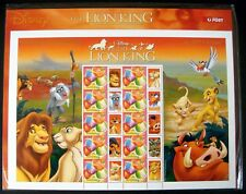 LION KING STAMPS SOUVENIR SHEET FROM AUSTRALIA 2004 MNH NUMBERED LIMITED EDITION