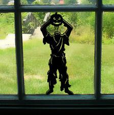 Scary monster avec citrouille halloween home/fenêtre/mur/voiture/autocollant vinyle autocollant