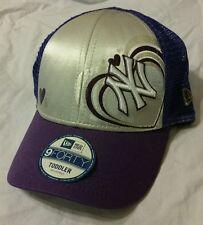 MLB New Era 9Forty 940 NY New York Yankees Youth Trucker Snapback Curved Hat Cap