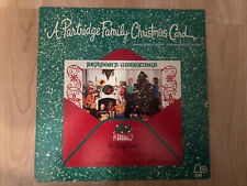 The Partridge Family - Christmas Card 1972 Bell BELL 6066 Club Jacket/Vinyl NM-