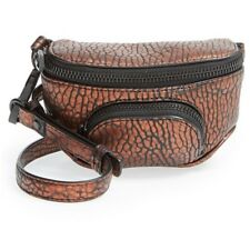 ALEXANDER WANG BRONZE LEATHER 'DUMBO' MINI FANNY PACK, $795