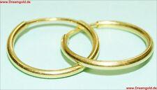 Neuware 585 echt Gold Creolen im Top modernem edlem Design 14 Karat Ohrringe