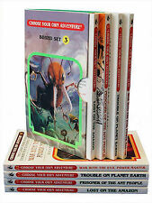 Box Set #4-3 Choose Your Own Adventure Books 9-12:: Box Set Containing: Lost on the Amazon, Prisoner of the Ant People, Trouble on Planet Earth, War with the Evil Power Master by R A Montgomery (Paperback / softback, 2006)