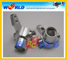 ALLOY FRONT KNUCKLE ARM UPRIGHT SILVER TAMIYA 1/10 TA01 TA-01